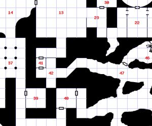Cropped portion of a map by 'Adventure Generator!'