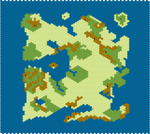 Lands of Lord British from Ultima I
