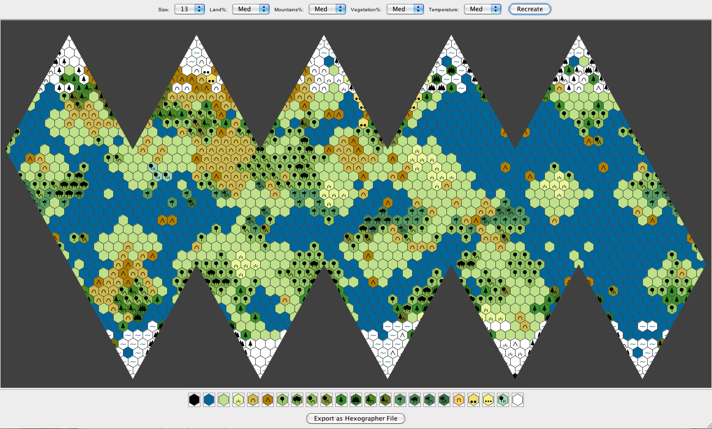 Icosahedral worldmap generator inkwell ideas updated screenshot shows new controls gumiabroncs Images