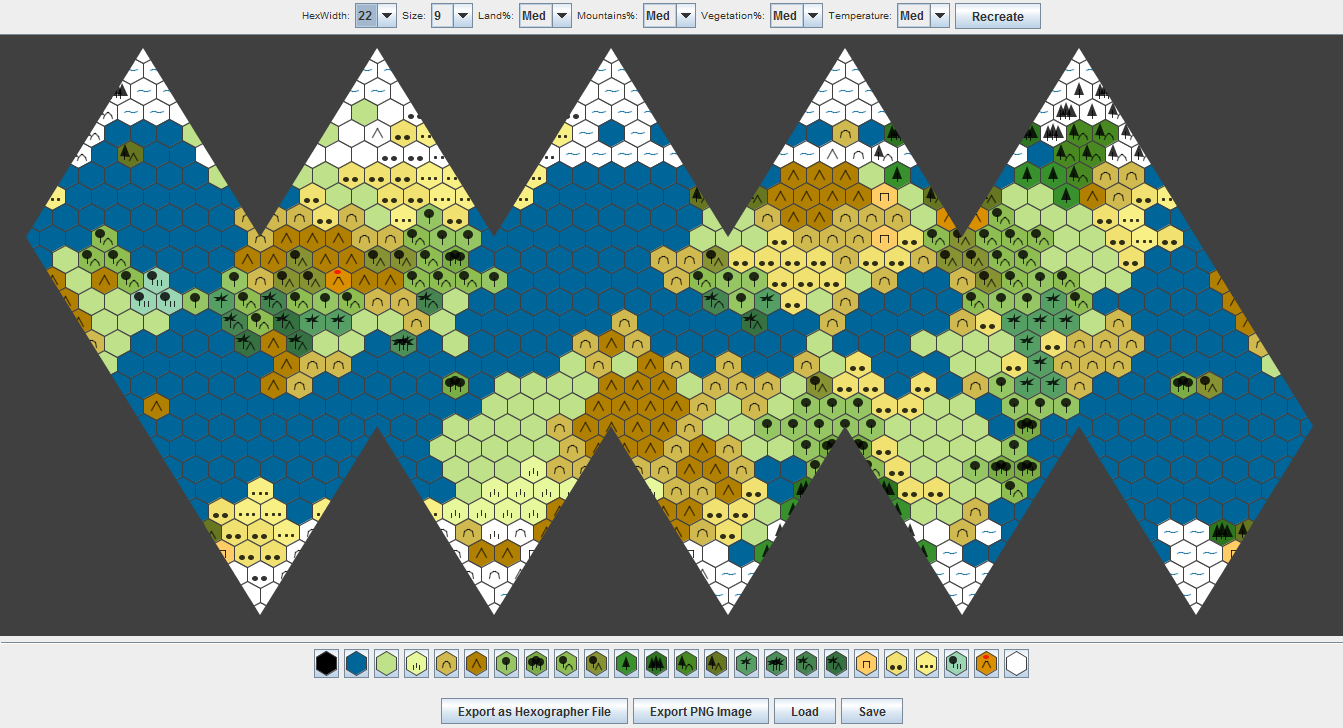 Icosahedral world map generator inkwell ideas the icosahedral map generator gumiabroncs Gallery