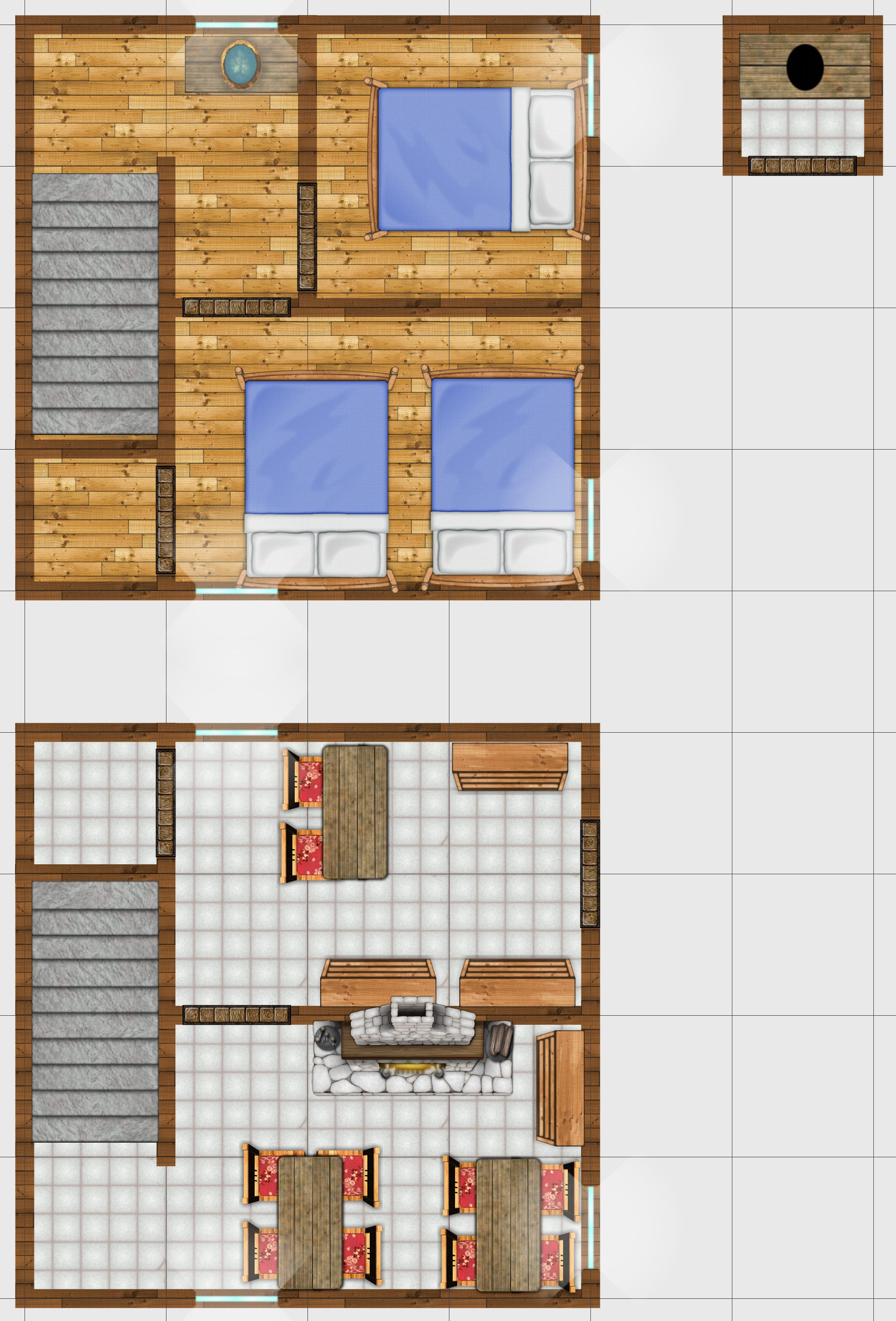 7 Medieval Home Battlemats | Inkwell Ideas