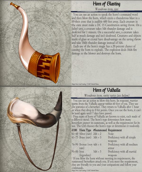 Kickstarter - Ending Soon] 5e Magic Item Card Catalog Kickstarter