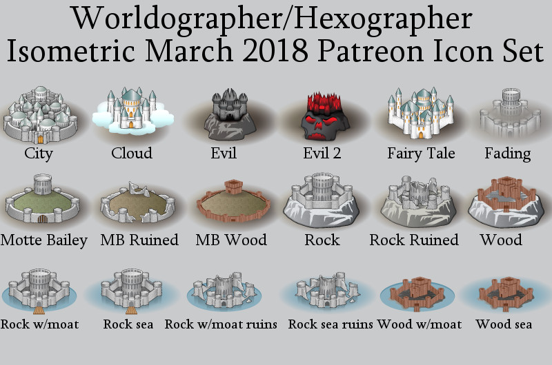 Worldogrpaher Isometric March Patreon Preview
