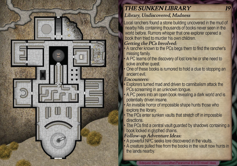 Sample: The Sunken Library