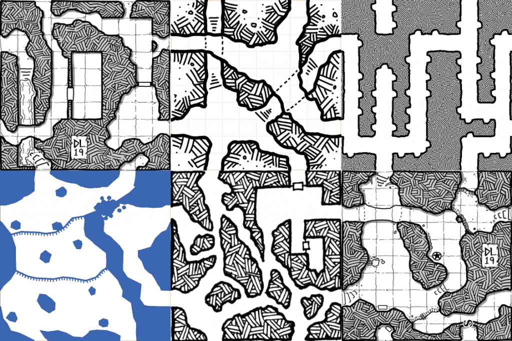 More DungeonMorph Samples