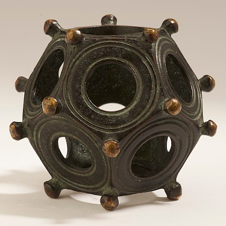 Roman Dodecahedron. Hunt Museum, CC0, via Wikimedia Commons
